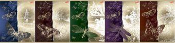 Тетр 96л скр А5 кл 7428/5-EAC метал пленк полн УФ Золотые бабочки и стрекозы