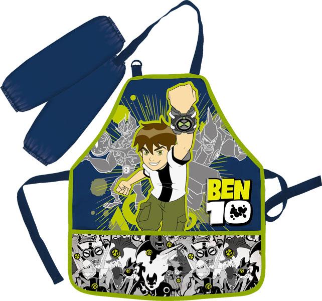 BENTR-12T-2900 Фартук с нарукавниками 51х44 см (фартук), 11х25 см (нарукавники) Ben10