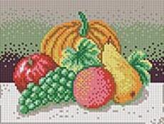 Мозаичные картины. Натюрморт с тыквой (220-ST)