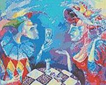 Мозаичные картины. Партия или вся жизнь игра (231-ST)