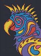 Мозаичные картины. Попугай (236-ST)