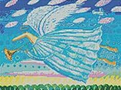 Мозаичные картины. Летящий ангел (243-ST)