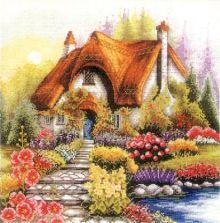 Наборы для вышивания. Маленький домик (1385-14)