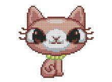 Наборы для вышивания. Брелок Кошка (6224)