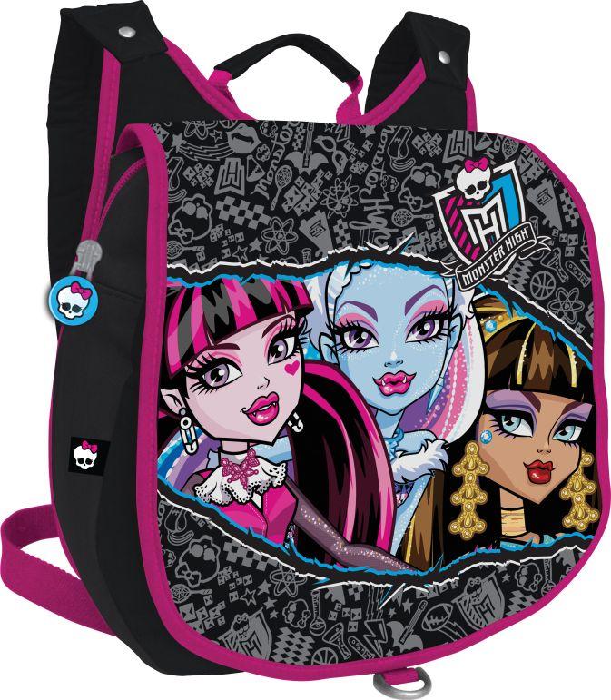 Рюкзак Размер 36 х 29 х 10 см. Упак. 4//48 шт. Monster High