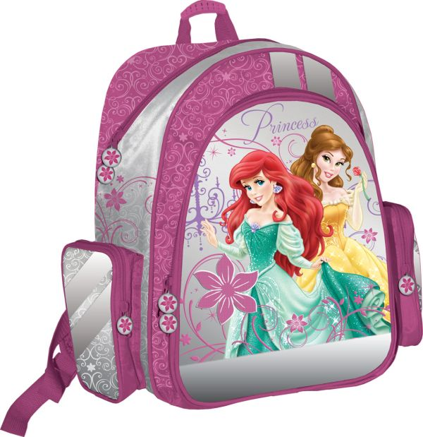 Рюкзак ортопедический с EVA-спинкой, размер38 х 36 х 16 см, упак. 3//12шт. Princess
