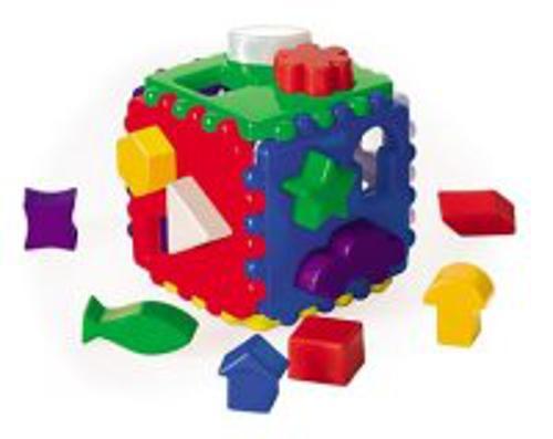 Игровой набор ЛОГИЧЕСКИЙ КУБ большой (Арт. И-3929)
