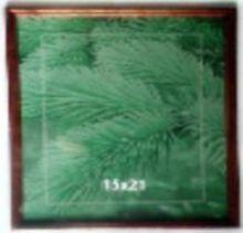 Фоторамка, материал - сосна, цвет-ассорти 1, размер 15*21 см
