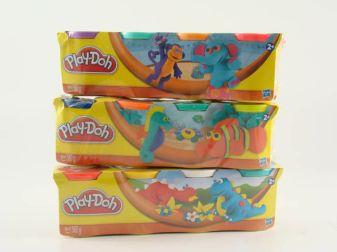 PLAY-DOH - Play-Doh Пластилин: Набор из 4 баночек пластилина обложка книги