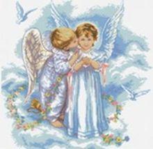 Наборы для вышивания 14ст. Поцелуй ангела (4001-14)