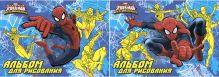 Альб д.рис 40л клей А4 SM323/2-EAC твин УФ конгрев Sev Spider-man Classic