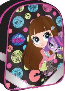 Рюкзак детский Размер 27 х 21,5 х 9,5 см Упак. 3//12 шт.Littlest Pet Shop