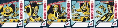 Тетр 12л скр А5 лин TR113/5-EAC тисн фольг Transformers Prime - фото 1
