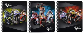 Тетр 48л Wсп А5 кл GP47/3-EAC Лен тисн фольг MotoGP