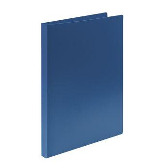 Папка с кольцами LITE 2 кольца А4 синий пластик 21 мм 500 мкм