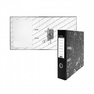 Папка-регистратор inФОРМАТ А4 мрамор картон 55мм собранный