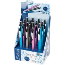 Ручка шариковая-автомат SIRIUS синие чернила, 0.7мм