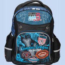 Рюкзак 42*30,5*14 см, жаккард, 600 ден, уплотненная спинка, широкие мягкие регулируемые лямки, 1 отделение, 2 боковых кармана, 1 внешний большой карма