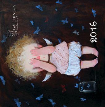 Евгения Гапчинская. Angels 1. Календарь настенный на 2016 год Гапчинская Е.