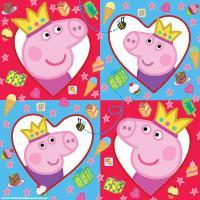 "Салфетки ""ПЕППА ПИГ"", 33*33см, 20шт._т.м.Peppa Pig"