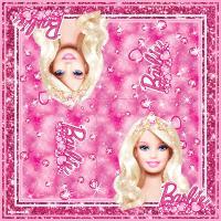 "Салфетки ""Принцесса"", 33*33см, 20шт., т.м.Barbie"