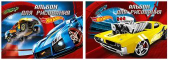Альб д.рис 20л Клей А4 HW70/2-EAC твин УФ Hot Wheels
