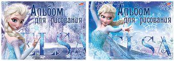 Альб д.рис 20л клей А4 D3607/2-EAC твин УФ лиц Frozen