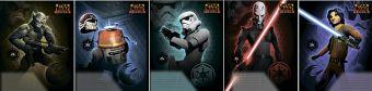 Тетр 24л скр А5 лин STW50/5-EAC Star Wars