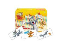TOM & JERRY. АССОЦИАЦИИ-ПОЛОВИНКИ. ТОМ И ДЖЕРРИ-18 (Арт. ИН-0612)
