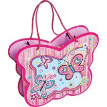 Блокнот  в сумочке с зеркальцем, 56 листов,  23x17.5x5.1cм,музыкальная коробка, плотность 70 гр