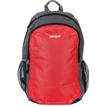Рюкзак 47,5*33*15 см, полиэстер, широкие мягкие регулируемые лямки, 2 отделения, 2 боковых кармана, цвет ассорти: зеленый, красный