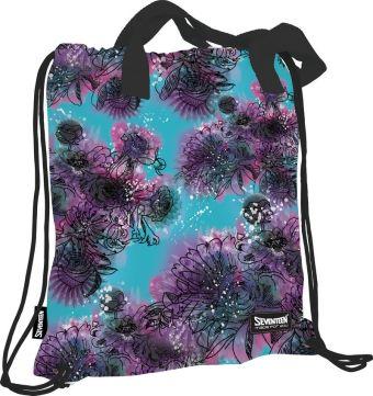 SVCB-RT2-896 Сумка-рюкзак для обуви с ручками. Внутри дополнительный карман на молнии для мелочей Размер 43 х 39 х 1 см Упак. 12/24/96 шт.Seventeen