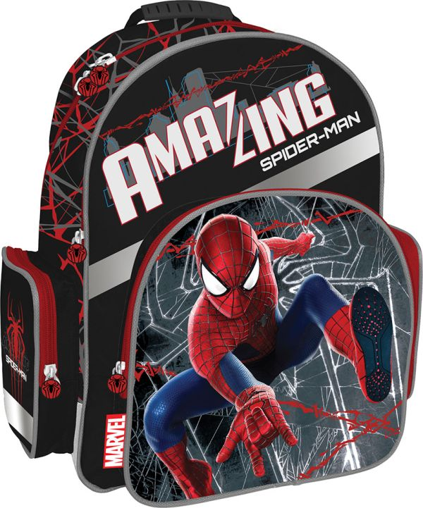 SMBB-UT1-9621 Рюкзак с эргономичной EVA-спинкой. Размер 38 x 29 x 15 см Упак. 3//12 шт. Amazing Spider-man 2