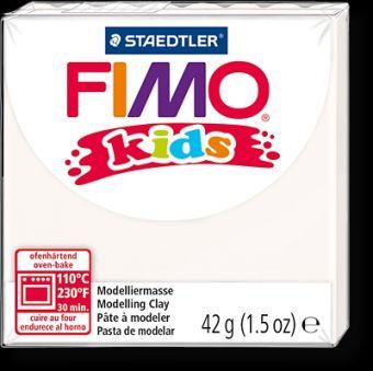 FIMO kids полимер. глина д/детей (белый) уп. 42 гр.