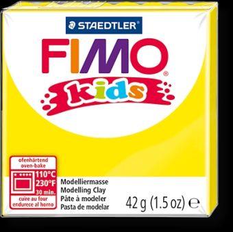FIMO kids полимер. глина д/детей (желтый) уп. 42 гр.