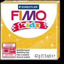 FIMO kids полимер. глина д/детей (блестящий золотой) уп. 42 гр.