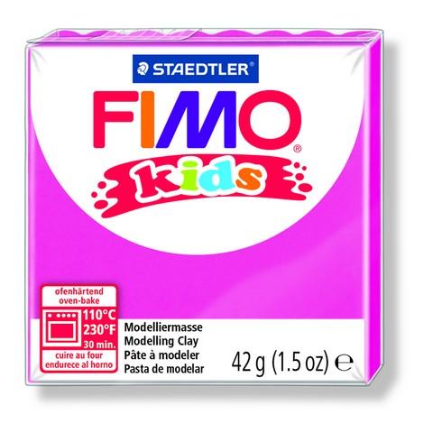 FIMO kids полимер. глина д/детей (перламутровый светло-розовый) уп. 42 гр.