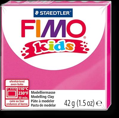 FIMO kids полимер. глина д/детей (розовый) уп. 42 гр.
