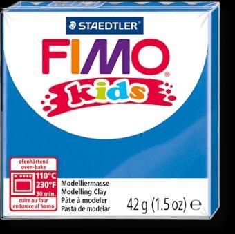 FIMO kids полимер. глина д/детей (синий) уп. 42 гр.