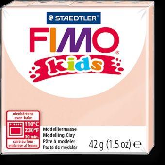 FIMO kids полимер. глина д/детей (телесный) уп. 42 гр.