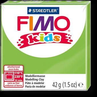 FIMO kids полимер. глина д/детей (светло-зеленый) уп. 42 гр.