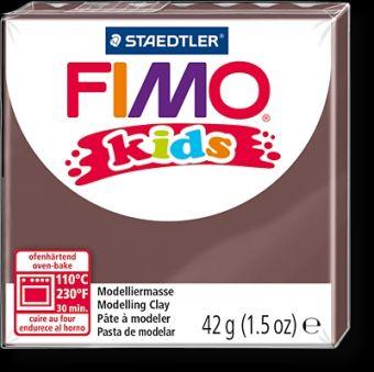 FIMO kids полимер. глина д/детей (коричневый) уп. 42 гр.