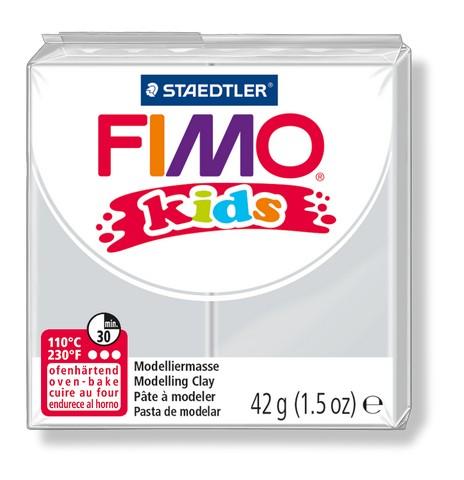 FIMO kids полимер. глина д/детей (светло-серый) уп. 42 гр.