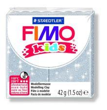 FIMO kids полимер. глина д/детей (блестящий серебряный) уп. 42 гр.