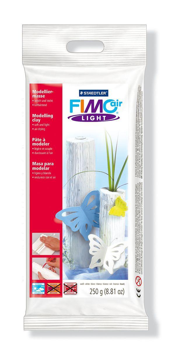 FIMO air цвет белый самоотвердевающая, легкая полимерная глина для моделирования, на водной основе, 250 гр.