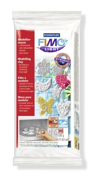 FIMO air цвет белый самоотвердевающая, легкая полимерная глина для моделирования, на водной основе, 500 гр.