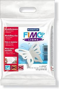 FIMO air light цвет белый самоотвердевающая легкая полимерная глина на водной основе, 125 гр.