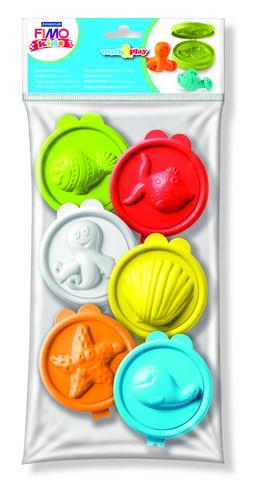 "3D формочки Fimo kids work&play ""морские животные"""