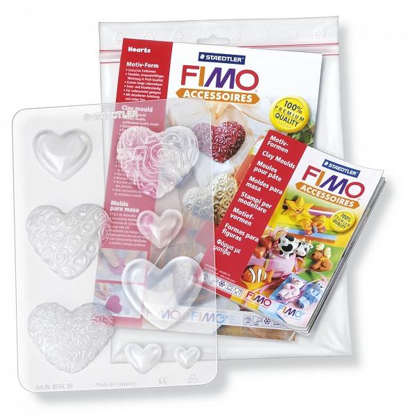 """FIMO формы для литья """"Сердца"""""""