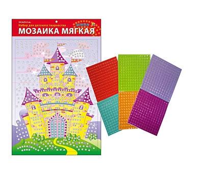 М-4736 - МОЗАИКА МЯГКАЯ. формат А3 (34.5х25 см) ЗАМОК (Арт. М-4736) обложка книги